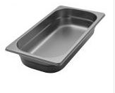Stainless steel Gastronorm pans GN 1/3 (325x176 mm)