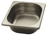 Stainless steel Gastronorm pans GN 1/6 (176x162)