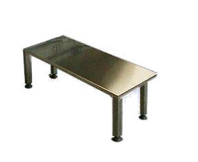 Aisi 304 stainless steel benches