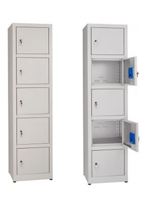 Multi-purpose cabinets in stainless steel