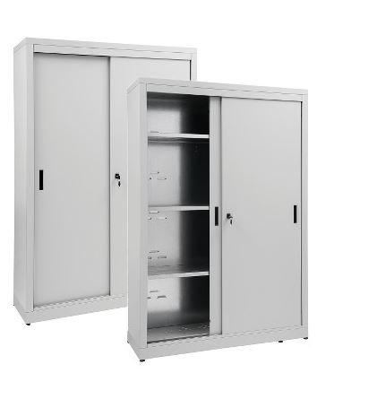 Storage Cabinets With Sliding Doors