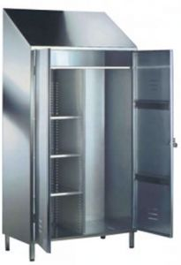 TEC9320 Armadietto acciaio inox 95x50x216