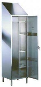 TEC9315 Armadietto acciaio inox 50x50x216