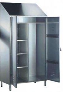 TEC9310 Armadietto acciaio inox 95x50x216