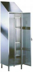 TEC9305 Armadietto acciaio inox 50x50x216