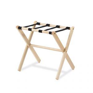 Reggivaligie, colore legno naturale, cm 48x48x53h