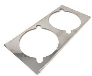 VGCV-GESUP support en acier inoxydable pour 2 mini-carapins