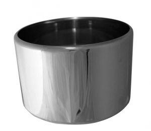 VGCV00-2  Carapina professionnelle en acier inoxydable diam.mm 200x125 h