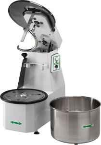 12CNS Spiral kneader liftable head 12 kg cicle dough 16 liters removable tank - Three Phase
