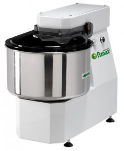 30LNT Spiral kneader LIGHT 25 kg cicle dough 32 liters tank - Three Phase