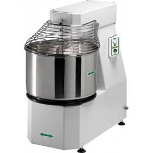 50CNS Pétrisseuse à spirale professionnel Tête rabattable Cuve amovible  62 liters 50 kg pâte