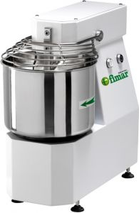 7SNM Spiral kneader 7kg cicle dough 10 liters tank - Single phase