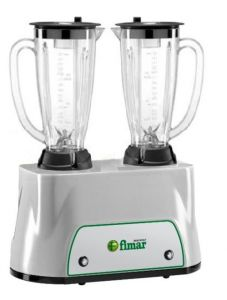FR2150P Shake frappe machine Double lexan cups 1,5+1,5 lt