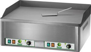 FRY2L Plaque de cuisson triphasée électrique 6000W double plan acier lisse