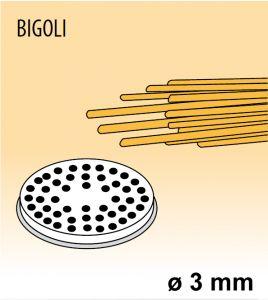 MPFTBI25 Brass bronze alloy nozzles BIGOLI for pasta machine