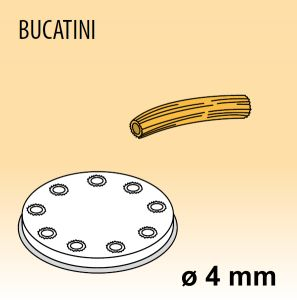 MPFTBU15 Brass bronze alloy nozzles BUCATINI for pasta machine