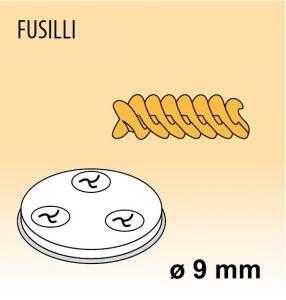 MPFTFU8 Trafila FUSILLI per macchina per pasta fresca