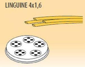 MPFTL4X16-15 Brass bronze alloy nozzles  LINGUINE 4x1,6 for pasta machine