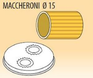 MPFTMA15-4 Brass bronze alloy nozzles MACCHERONI Ø 15 for pasta machine