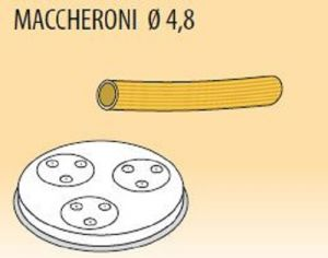 MPFTMA4-25 Trafila MACCHERONI Ø 4,8 per macchina per pasta fresca