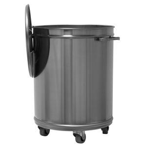 MC1001 bin en acier inox AISI 304