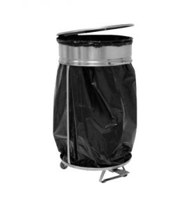 MC1008 trash bag holder in stainless steel AISI 304
