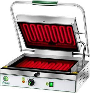 PV40LR Plaque chauffante en vitroceramique simple lisse/rainuree monophase 2000W