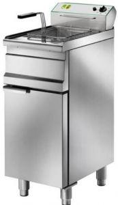 SFM13 Electric fryer 13 liters basin on cabinet 9 kW three-phase big basket