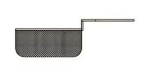 SFM18CEST1 Cestello mezzocesto per friggitrice