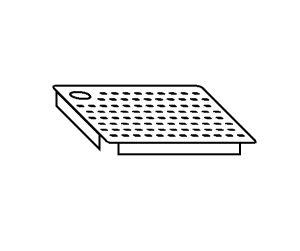 AC2021 Falsofondo Forato per Vasche SX 40x50
