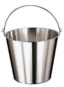 SE-G15 Secchio in acciaio inox graduato 15 litri