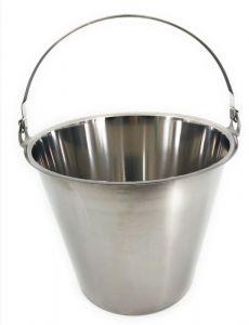 SE-LB10 Tapa de acero inoxidable para cubeta de 10 litros.