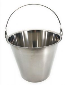 SE-LB15 Coperchio in acciaio inox per secchio 15 litri
