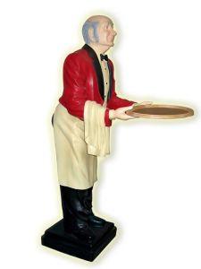 ER001 Cameriere tridimensionale alto 195 cm