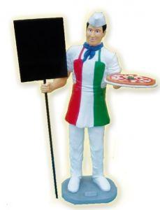SR022 Pizzaiolo Pizzero fibra de vidrio alto 175 cm