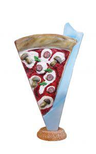 SR032A Spicchio di Pizza - Segment publicitaire 3D pour pizzeria, hauteur 180 cm