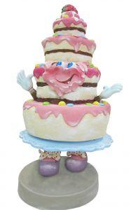 SR062 Cake - Torta publicitaria 3D para gastronomía altura 180 cm
