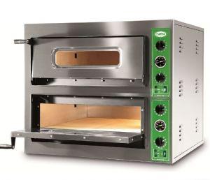 B8+8M  - Forno per Pizza INOX 8 PIZZA 36 cm  -  Monofase B8+8