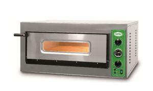 B8T - Four à pizza INOX 4 PIZZA 36 cm triphasé B8