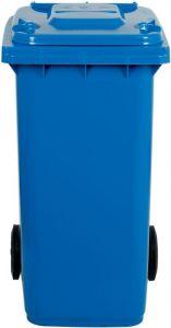 AV4675 Poubelle Blue 2 roues 100 liters
