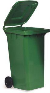 TAV 4676 Portarifiuti polietilene verde 2 ruote 120 litri
