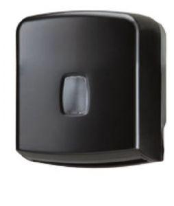 T104257 Distributore carta igienica interfogliata/rotolo 250 fogli ABS nero