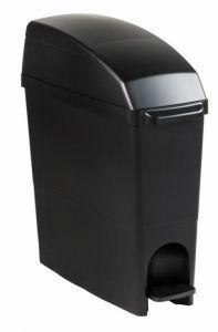 T104281 Poubelle hygiène féminine noir 18 litres