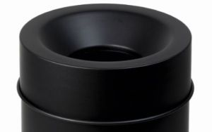 T770064 Tete anti-feu Noir pour poubelle 50 litres SEULEMENT  COUVERTURE