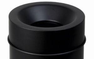 T770065 Tete anti-feu Noir pour poubelle 90 litres SEULEMENT COUVERTURE