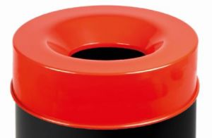 T770567 Fireproof lid Red for bucket 50 liters ONLY COVER