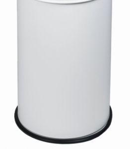 T770903 Seau pour poubelle antifeu Blanc 90 litres SANS COUVERCLE