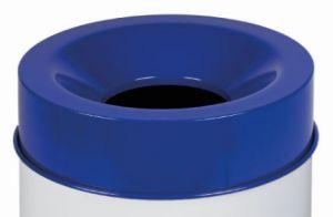 T770965 Tete anti-feu bleu pour poubelle 90 litres SEULEMENT COUVERTURE
