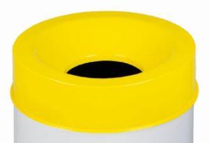 T770966 Coperchio Giallo per corpo gettacarte antifuoco 90 litri SOLO COPERCHIO