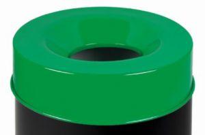 T770968 Tete anti-feu verte pour poubelle 90 litres SEULEMENT COUVERTURE